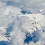 Cloud over the Alps